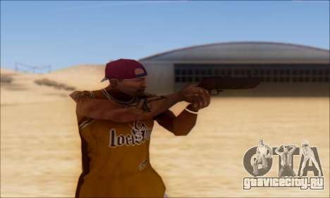 GTA 5 Vom Feuer Compact Grenade Launcher для GTA San Andreas третий скриншот