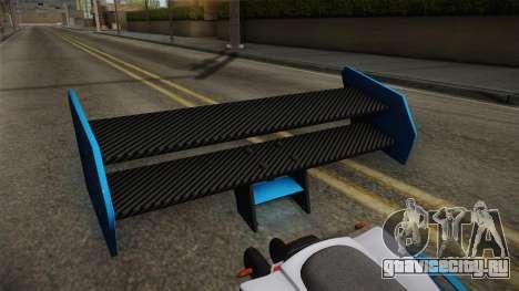 GTA 5 Nagasaki Street Blazer v2 для GTA San Andreas вид сзади