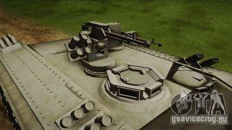 Heavy APC для GTA San Andreas вид сзади