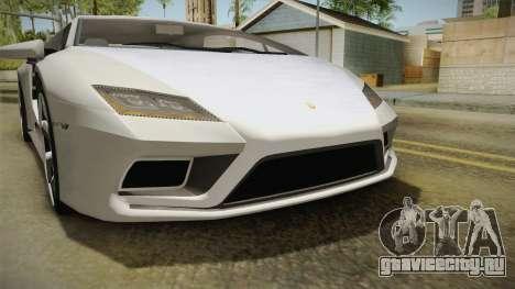 GTA 5 Pegassi Tempesta для GTA San Andreas вид снизу