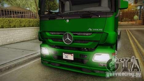 Mercedes-Benz Actros 2646 для GTA San Andreas вид сзади слева