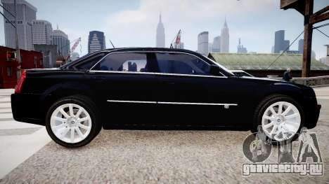 Chrysler 300c SRT8 для GTA 4 вид слева