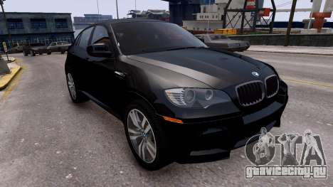 BMW X6M by DesertFox v.1.0 для GTA 4 вид справа