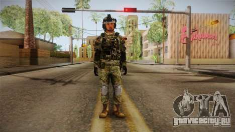 Multitarn Camo Soldier v2 для GTA San Andreas