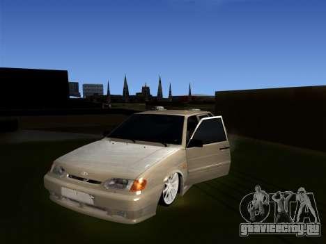 ВАЗ 2114 БПАН для GTA San Andreas вид сзади слева