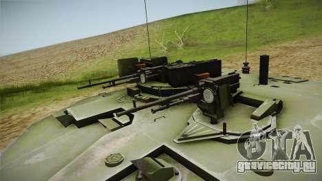 Challenger 2 для GTA San Andreas вид сзади
