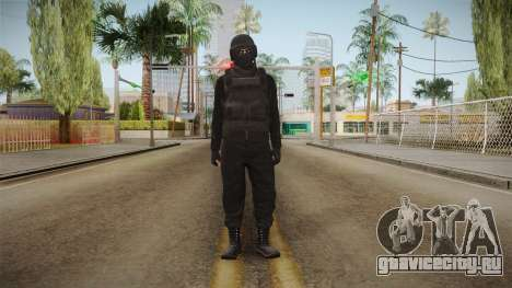 GTA Online Military Skin Black-Negro для GTA San Andreas второй скриншот