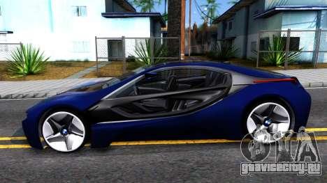 BMW Vision 3 для GTA San Andreas вид слева
