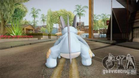 Pokémon XY - Swampert для GTA San Andreas третий скриншот