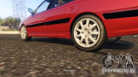 Peugeot Pars для GTA 5 вид справа