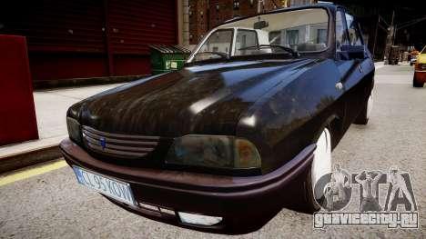 Dacia 1310 L для GTA 4 вид справа