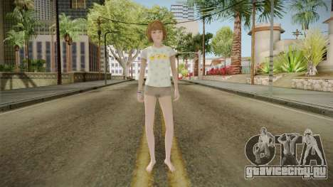 Life Is Strange - Max Caulfield PJ Chick для GTA San Andreas