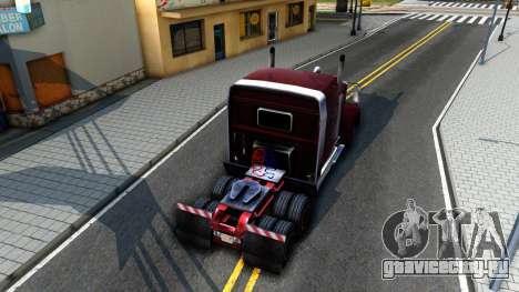 Realistic Linerunner для GTA San Andreas вид сзади