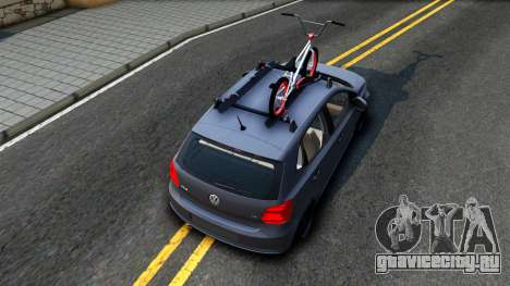 Volkswagen Polo STANCE для GTA San Andreas вид сзади