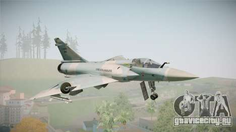 EMB Dassault Mirage 2000-C FAB для GTA San Andreas вид справа