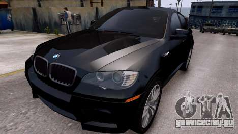 BMW X6M by DesertFox v.1.0 для GTA 4