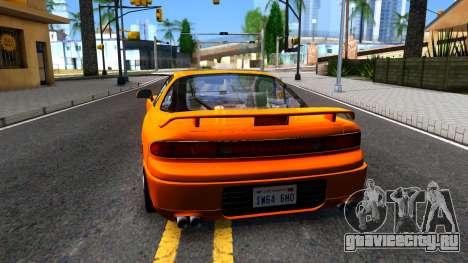 Mistubishi 3000GT 1992 для GTA San Andreas вид сзади слева