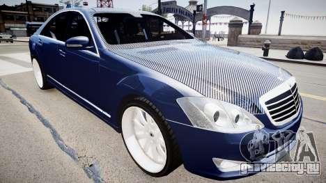 Mercedes Benz S500 T для GTA 4
