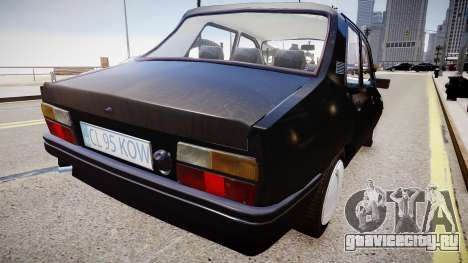 Dacia 1310 L для GTA 4 вид сзади слева