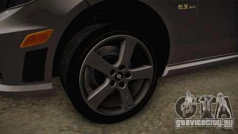 Mercedes-Benz E63 для GTA San Andreas вид сзади