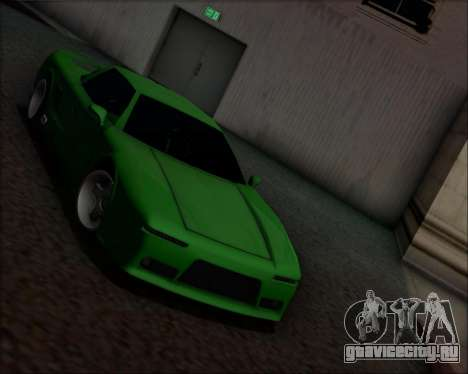 Infernus Hard Stunt для GTA San Andreas вид справа
