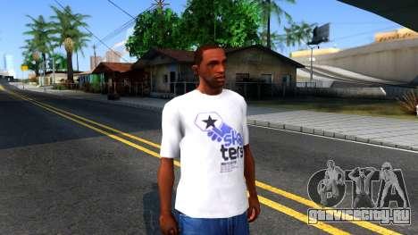 Pro Skater T-Shirt для GTA San Andreas второй скриншот