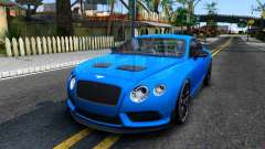 Bentley Continental GT3-R 2015 для GTA San Andreas