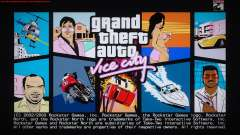 GTA Vice City Boot screens