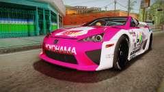 Lexus LFA Ram The Red of ReZero для GTA San Andreas