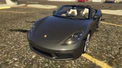 Porsche 718 Boxster S для GTA 5