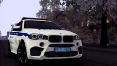 BMW X6M 2015 Russian Police