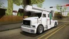 GTA 5 Brute Utility Truck для GTA San Andreas