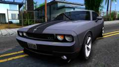 Dodge Challenger Unmarked 2010 для GTA San Andreas