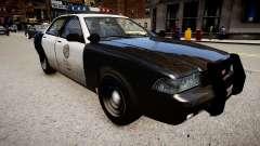 Полицейская машина из GTA V