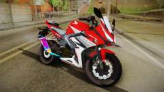 Honda CBR150R 2016 Racing Red для GTA San Andreas