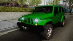 Jeep Wrangler Unlimited Rubicon 2013