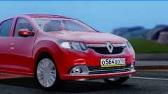 Renault Logan 2016 для GTA San Andreas