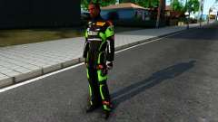 Kawasaki Racing Suit для GTA San Andreas