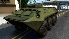 BTR-70 для GTA San Andreas