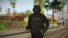GTA Online Military Skin Black-Negro для GTA San Andreas