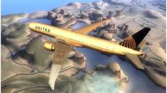 United Airlines Boeing 777-322ER - N58031 для GTA San Andreas