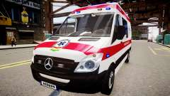 Hungarian Mercedes Sprinter Ambulance
