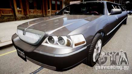 Lincoln Town Car Limousine 2010 для GTA 4