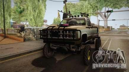 AntiZombies Pick Up для GTA San Andreas