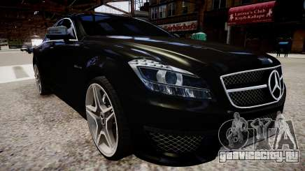 Mercedes-Benz CLS 6.3 AMG'12 для GTA 4