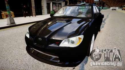 Subaru Impreza WRX STI Spec C Type RA-R 2007 для GTA 4