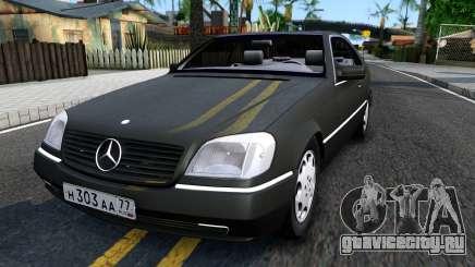 Mercedes-Benz 600SEC 1993 для GTA San Andreas