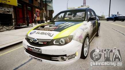 Subaru Impreza WRX STi K.Block для GTA 4
