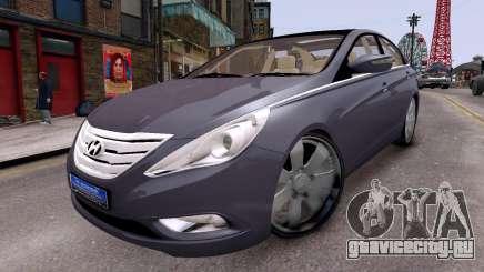 Hyundai Sonata 2011 для GTA 4