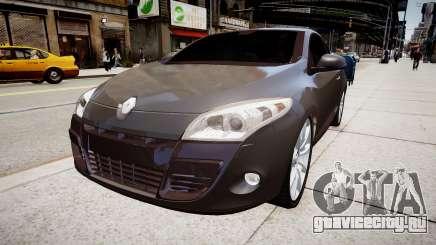 Renault Megane Coupe бордовый для GTA 4